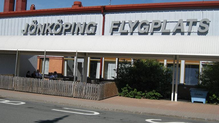 Jönköping flygplats.