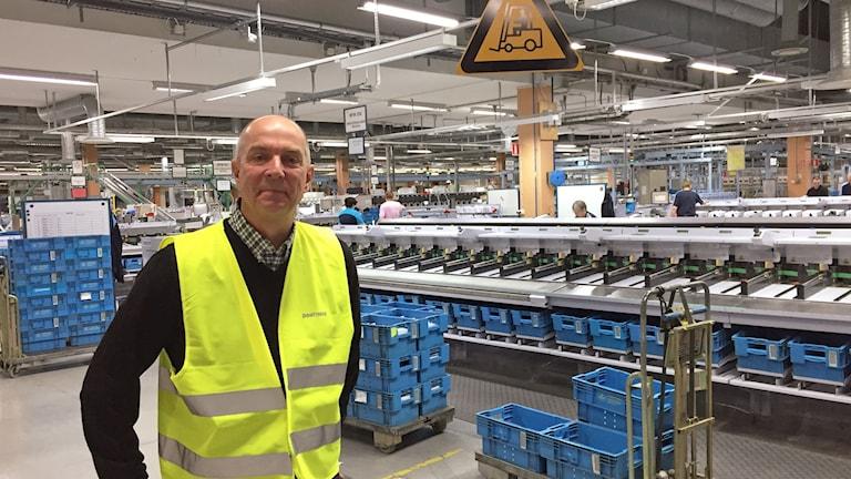 Per Johansson, terminalområdeschef Postnord.