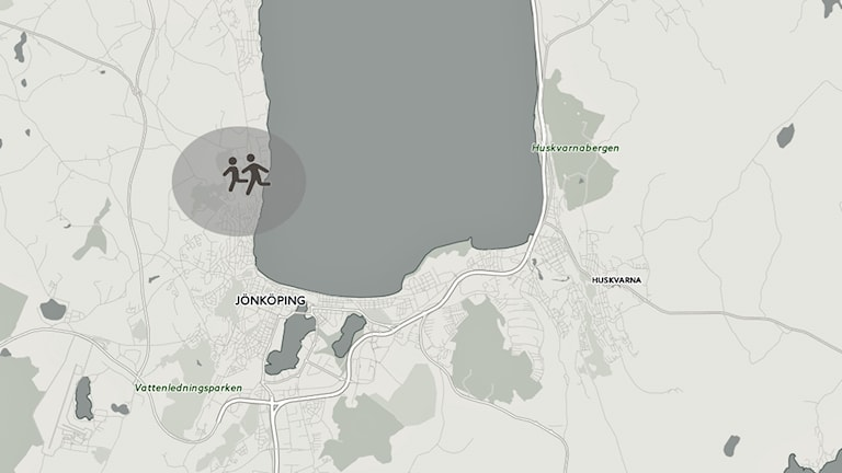 Karta Djupadalsskolan.