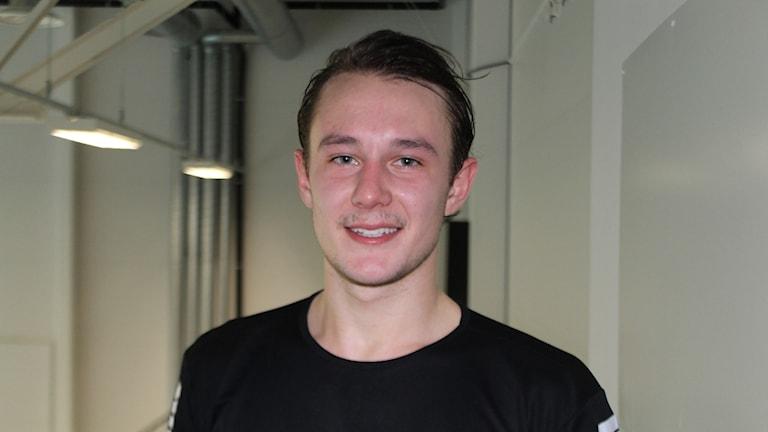 Felix Thyberg gjorde fem mål mot Ystad