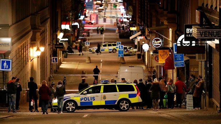 Drottninggatan misstänkt terrorbrott