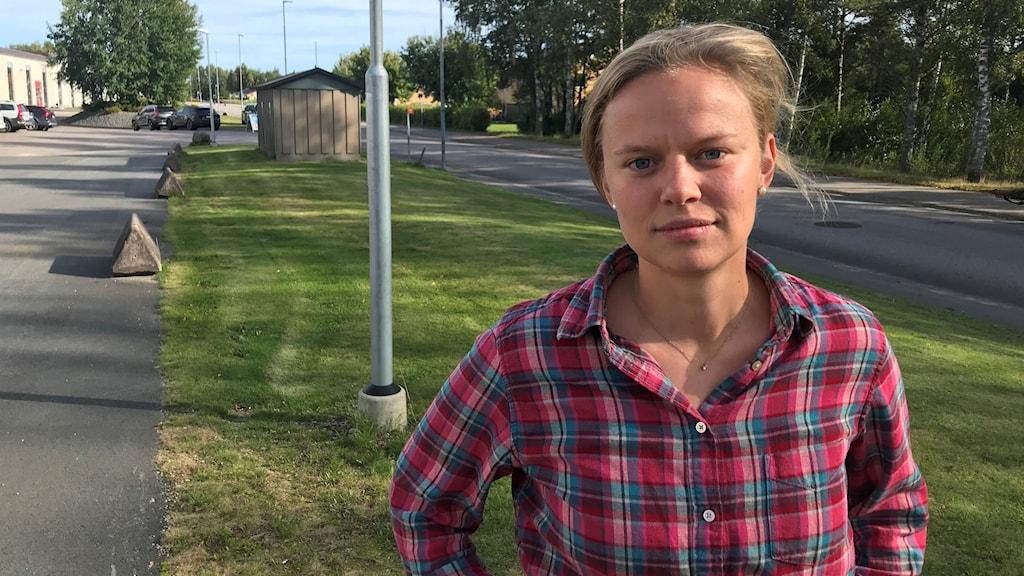 Emma Sundelius bor i Jönköping och jobbar i Hillerstorp.