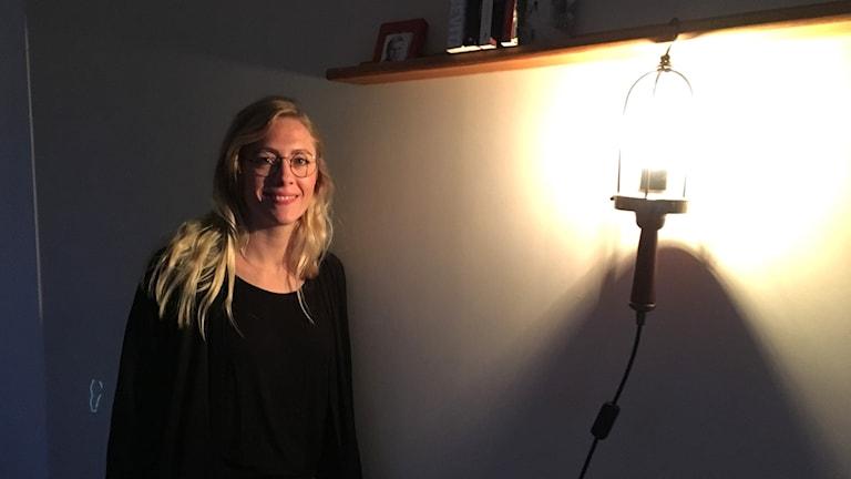 Ljusdesigner Ida Raymondsson.