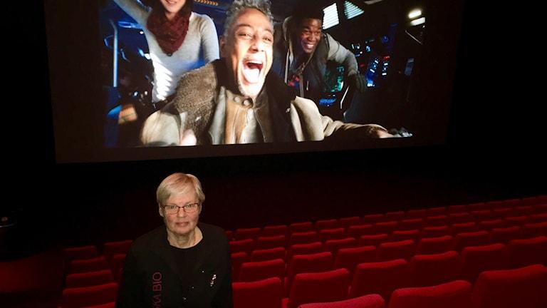 Anita Arvidsson från Svenska bio.