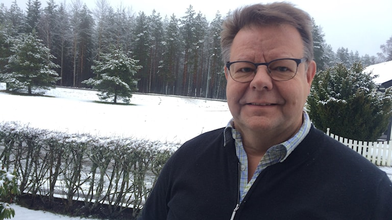 Bengt Samuelsson (KD) som är kommunfullmäktiges ordförande i Aneby.