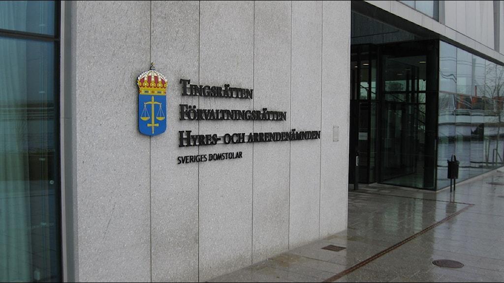 Tingsrätten i Jönköping. Foto: Robert Davidsson/Sveriges Radio