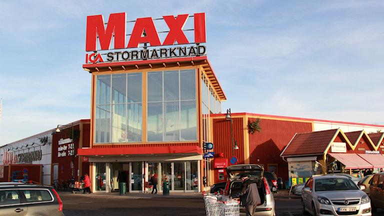 Ica Maxi Jönköping. Foto: Jonatan Nilsson/Sveriges Radio