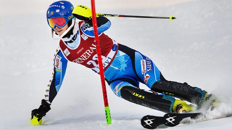 Emelie Wikström. Foto: Vilhelm Stokstad/TT.