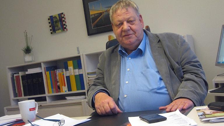 Håkan Jansson. Foto: Peter Jernberg/Sveriges Radio.