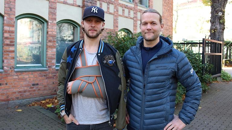 Alexander Ytterell och Andreas Frostemark.