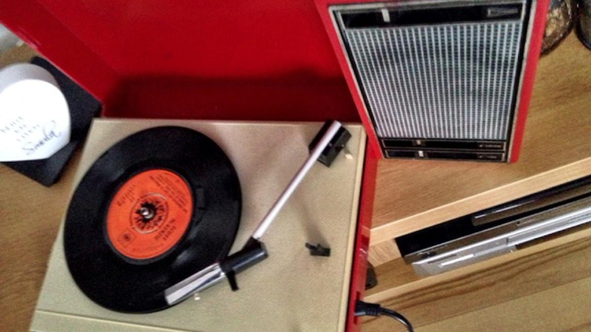 Grammofon. Foto: Håkan Eng/Sveriges Radio.