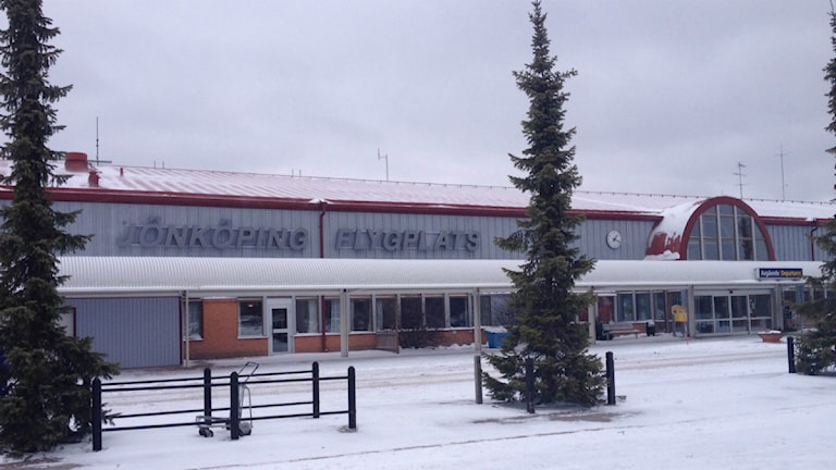 Jönköpings flygplats. Foto: Therese Edin/Sveriges Radio