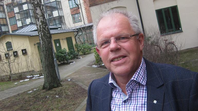 Rune Backlund, centerpartist. Foto: Peter Jernberg/Sveriges Radio.