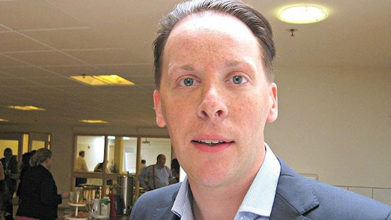 Mats Green (M) riksdagsledamot från Jönköping.