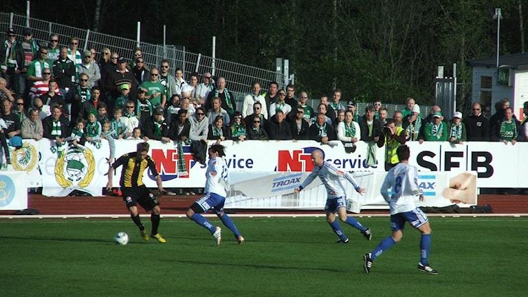 IFK Värnamo. Arkivbild, foto: Henrik Gustavsson/Sveriges Radio