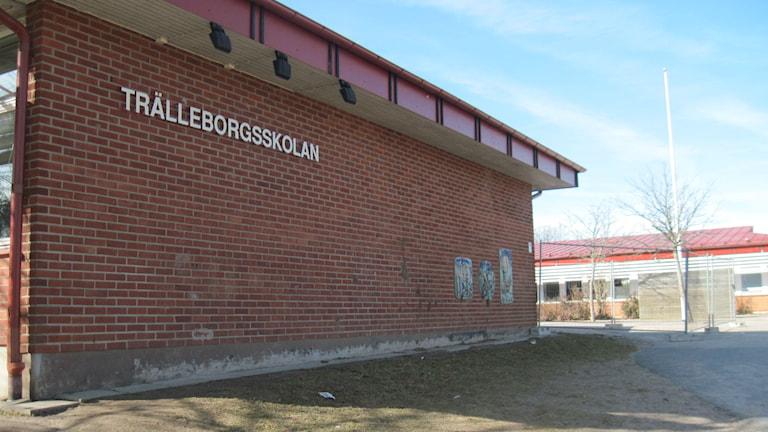 Trälleborgsskolan i Värnamo. Foto: Karin Malmsten/Sveriges Radio.