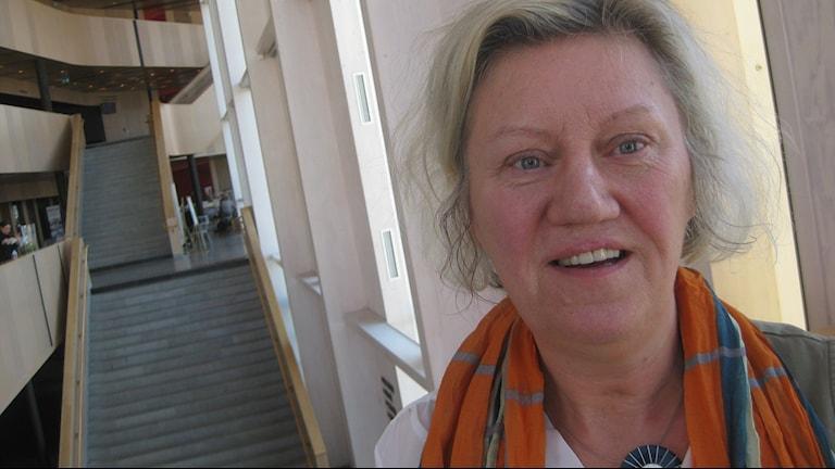 Carina Ödebrink. Foto: Peter Jernberg/Sveriges Radio.