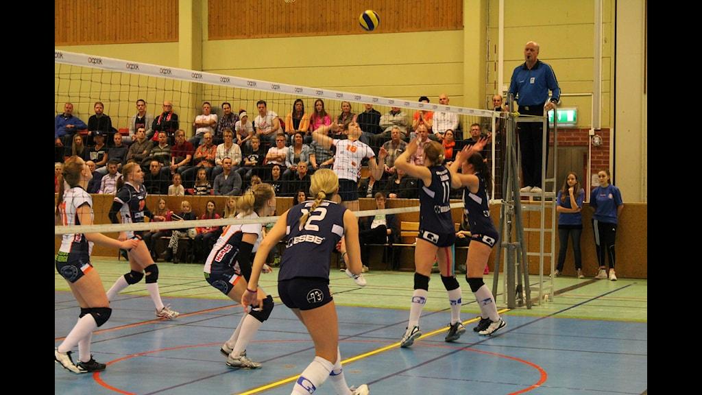 GVK kämpade och slet för att vinna matchen men utan resultat. Foto: Tommy Haag P4 Jönköping