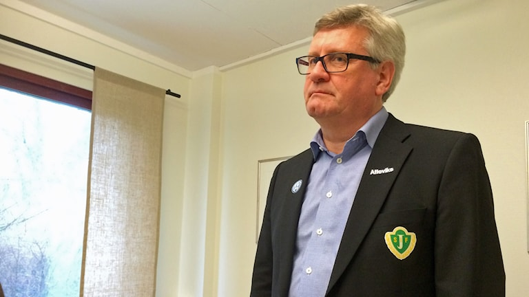 Sune Lantz. Foto: Hannes Ewehag/Sveriges Radio