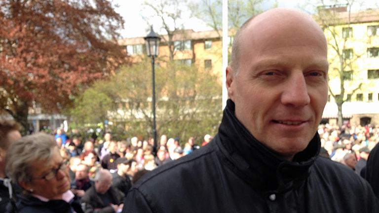 Hans Boeryd. Foto: Karin Malmsten/Sveriges Radio