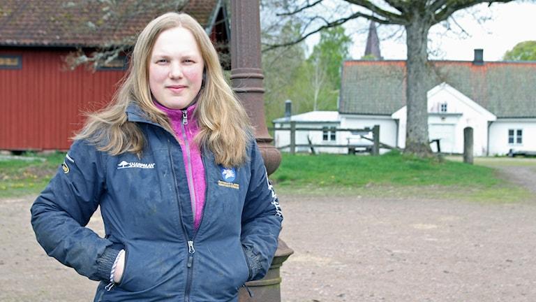 Sofia Ridderstad (M). Foto: Paul Zyra/Sveriges Radio