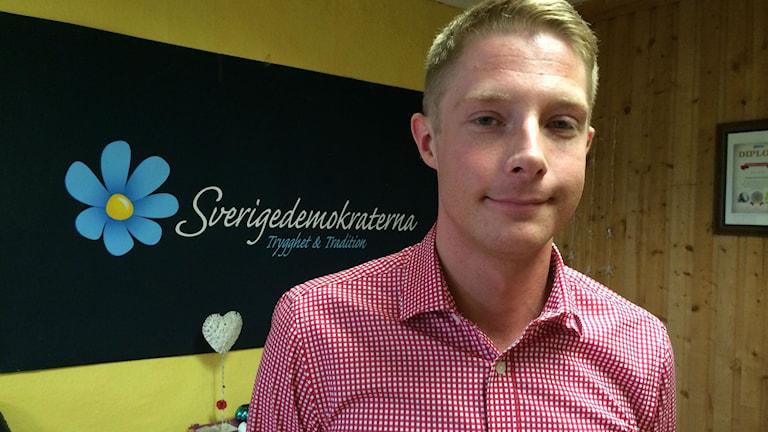 Johan Nissinen, Sverigedemokraterna.