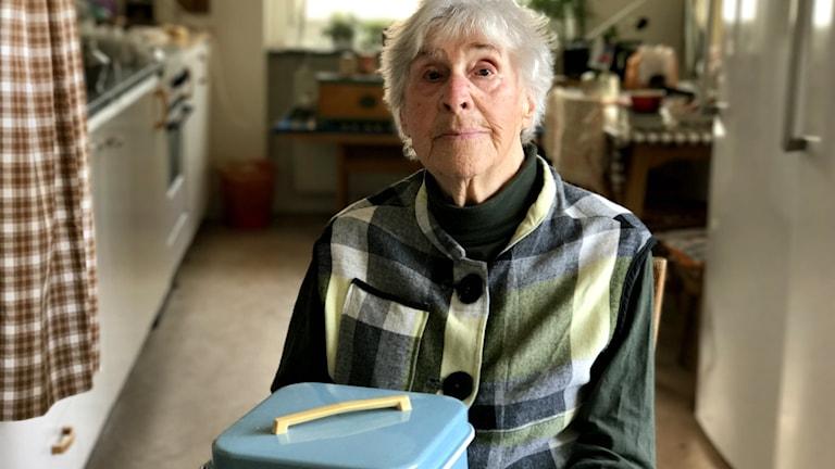 Pensionär Ester Gustavsson