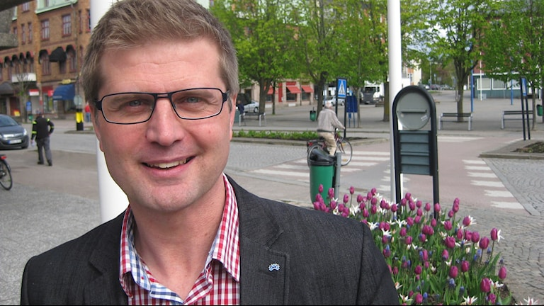 Magnus Olofsgård. Foto: Dan Segerson/Sveriges Radio.
