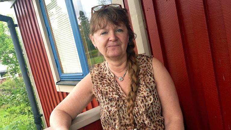 Carina Hägg. Foto: Pernilla Arvidsson/Sveriges Radio