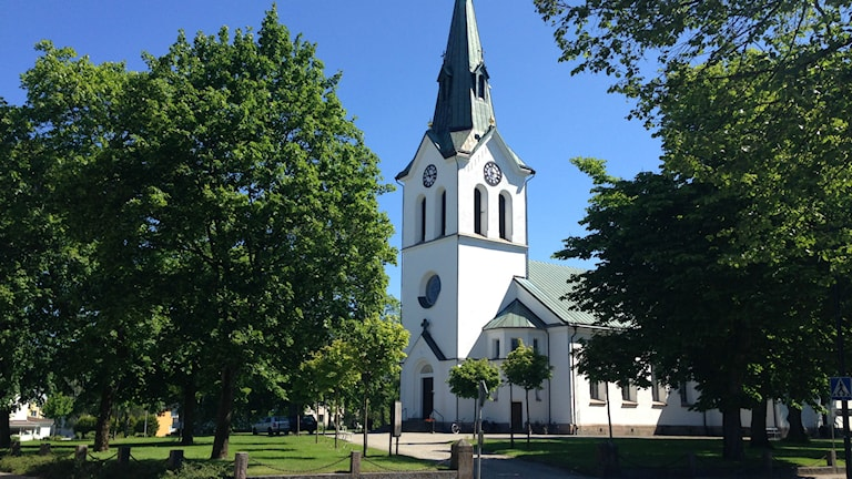 Värnamo kyrka. Foto: Karin Malmsten/Sveriges Radio.