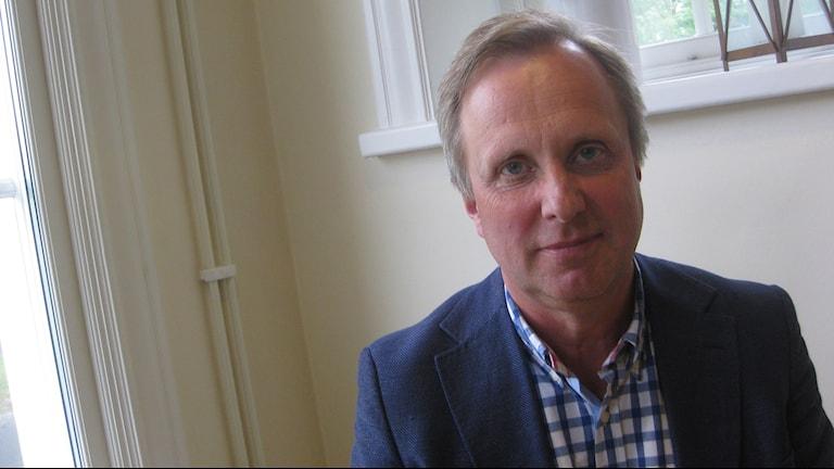 Mats Bojestig hälso- och sjukvårdsdirektör. Foto: Peter Jernberg/Sveriges Radio.