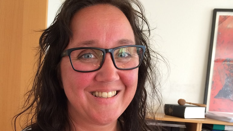 Mia Frisk. Foto: Emma Johansson/Sveriges Radio.