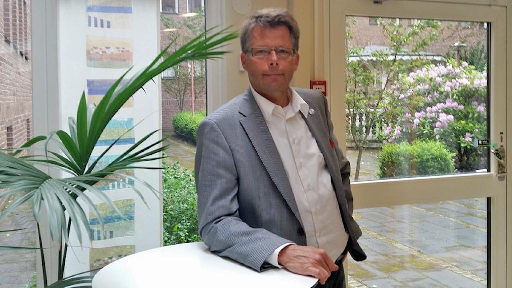 Leif Denneberg, generaldirektör Jordbruksverket. Foto: Therese Edin/Sveriges Radio