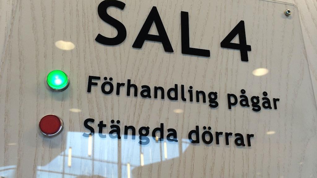 Skylt Jönköpings tingsrätt