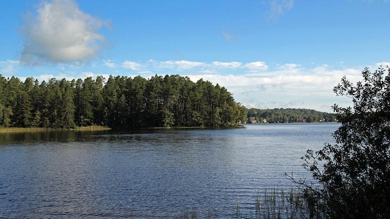 Kärleksudden vid Mullsjön