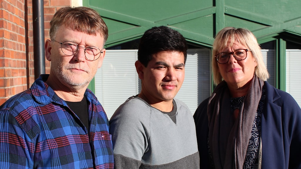 Ulrik Josefsson, Sakhi Mohammad och Chatrine Carlson.