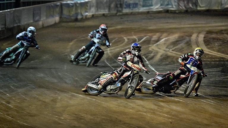 Speedway, Indianerna-Elit Vetlanda. Foto: Per Knutsson/TT