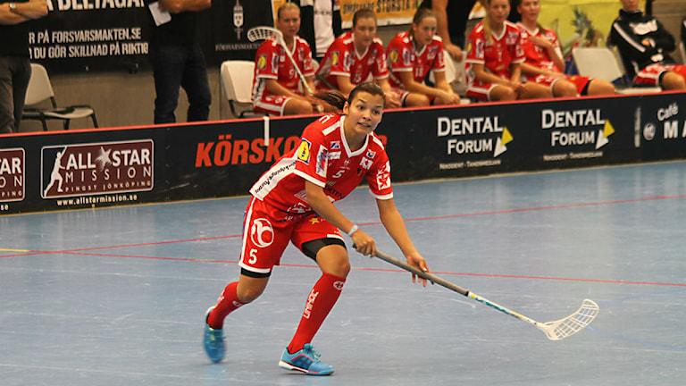 Micaela Lundmark, JIK. Foto: Henrik Gustavsson/Sverigesradio