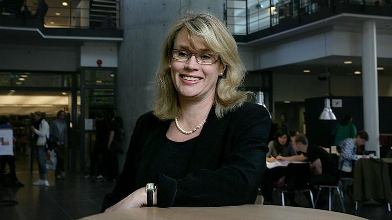 Forskare Annika Rejmer. Foto: KG pressfoto