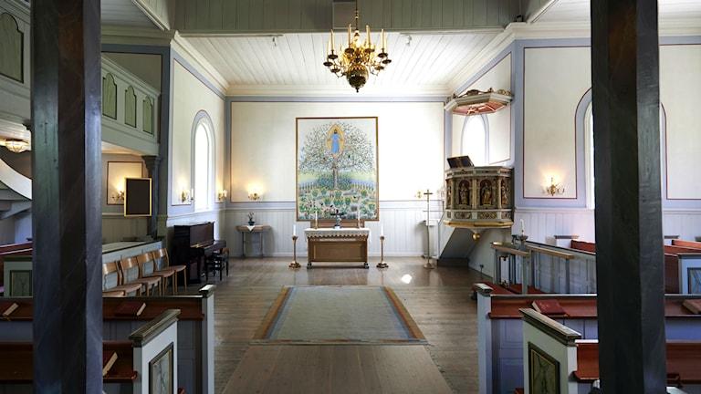 Slottskapellet Jönköping. Foto: Tommy Hvitfeldt/ Hvitfeldt produktion.