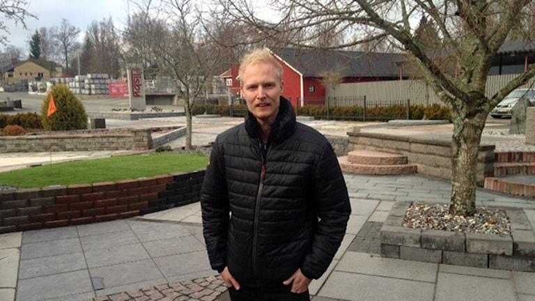 Kristofer Hansen, Flisby. Foto: Håkan Eng/Sveriges Radio