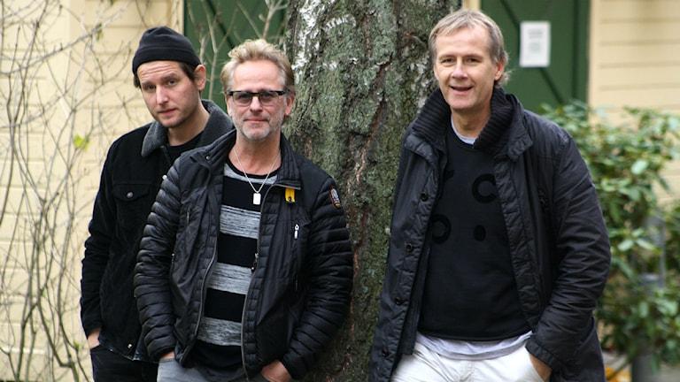 Freda utanför Radiohuset. Foto: Hasse Petersson/SR