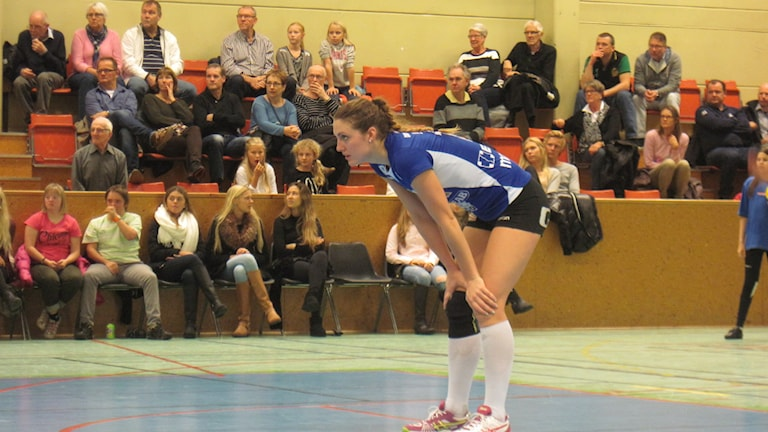 Sanna Schultz i Gislaved volley.