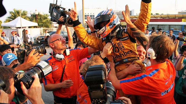 Felix Rosenqvist. Foto: Mattias Persson / Motorsport Publication.