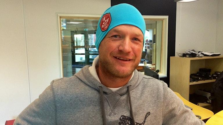Pelle Edberg, golfare född i Jönköping men spelandes för Hooks GK. Foto: Kajsa Hallberg/Sveriges Radio