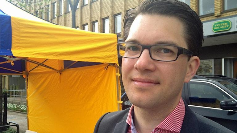 Jimmie Åkesson. Arkivbild, foto: Rebecka Montelius/Sveriges Radio