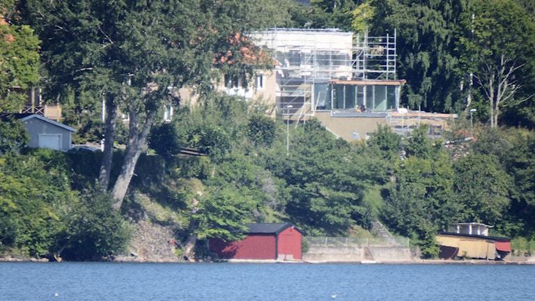 Sjönära hus. Arkivbild, foto: David Westh/Sveriges Radio