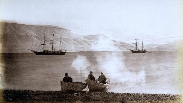Bilddonation, Polarcentrum. Källa: Grenna Museum - Andréexpeditionen Polarcenter