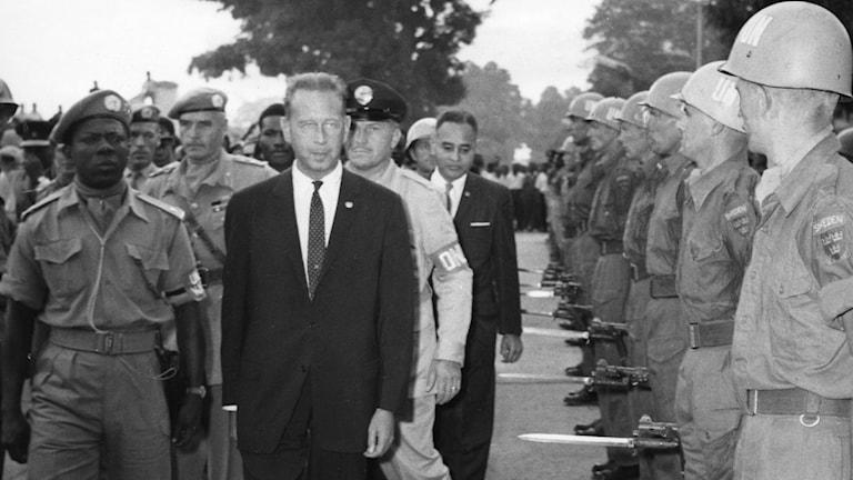 Dag Hammarskjöld. Foto: TT / Pressens bild