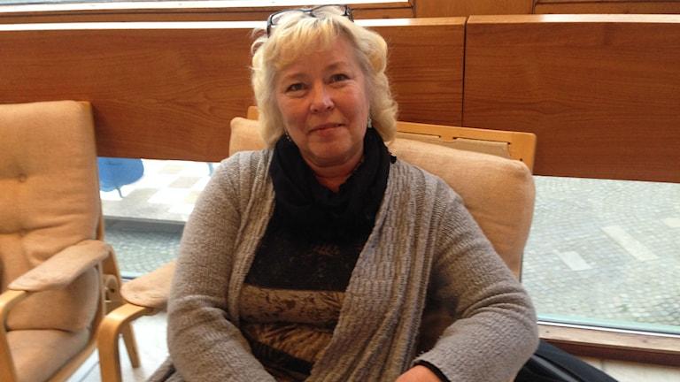 Anne Karlsson (SD). Foto: Karin Malmsten/Sveriges Radio.